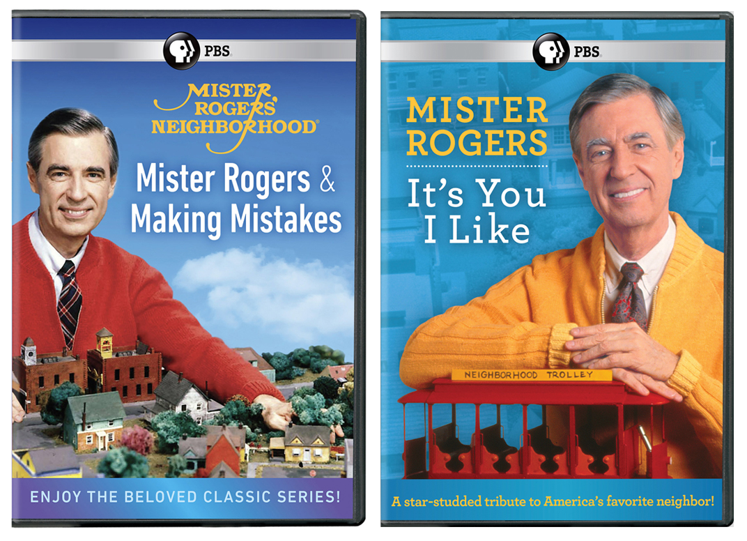 Mister Rogers It S You I Like Dvd Mister Rogers Making Mistakes Dvd Pledge